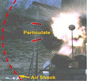 La bombe DIME est une bombe à fragmentation