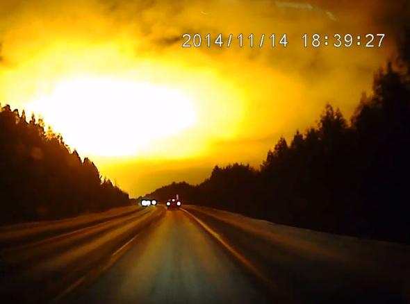 Le flash lumineux du 14/11/2014