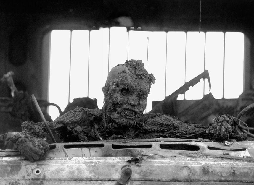 Iraqi man burned alive Gulf War - Kenneth Jarecke