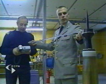 radioactivité munition uranium meissonier