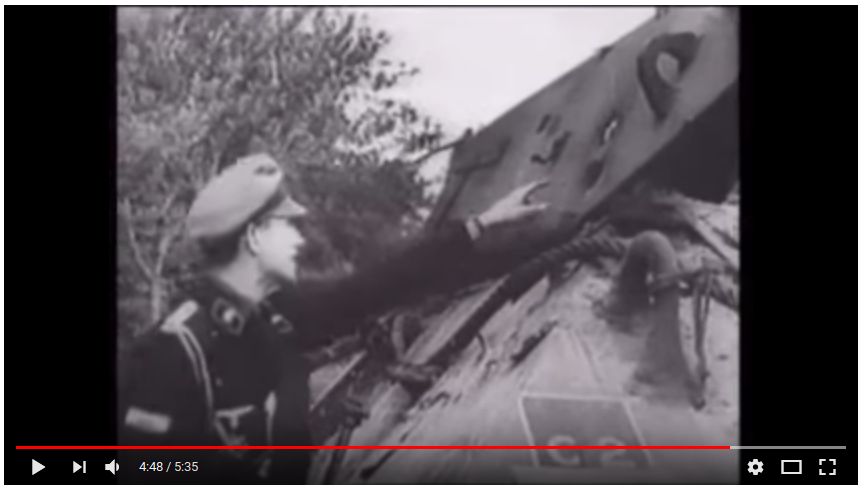 Nazis holes tanks