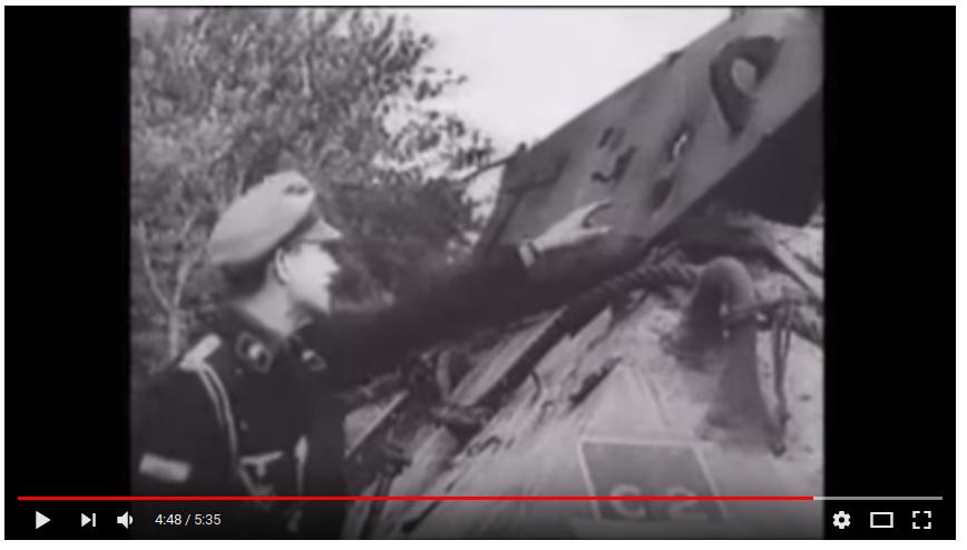 Nazis holes tanks